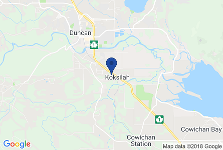 Google Map of the Pro Pacific DKI Duncan office, located at 16-4970 Polkey Road, Duncan BC