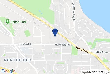 Map of the Pro Pacific DKI Nanaimo office